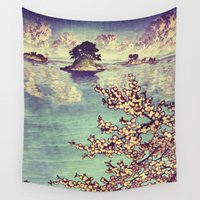 poetry Wall Tapestries featuring Watching Kukuyediyo by Kijiermono