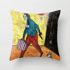 Recidiviste Throw Pillow