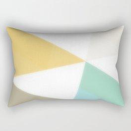 Geometric Abstraction - original abstract art Rectangular Pillow