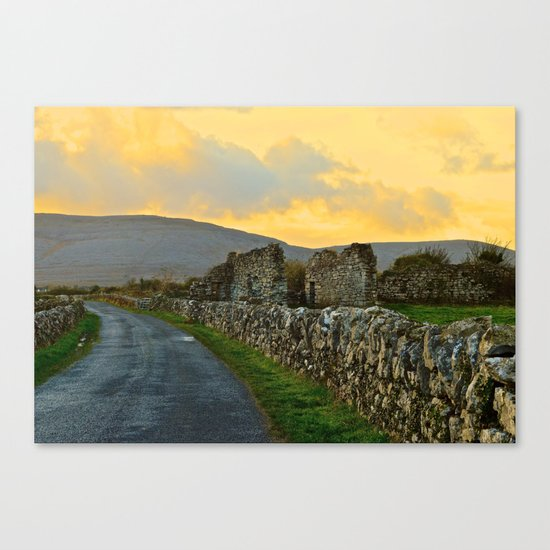 The Road Back to Dublin Canvas Print