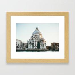 VENICE strolls Framed Art Print