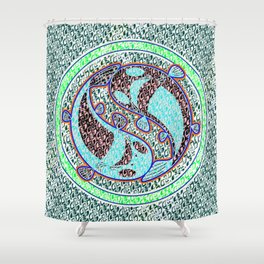 unKamon Zen Shower Curtain