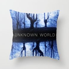 Unknown World Throw Pillow