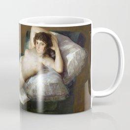Maja Desnuda (The Nude Maja) by Francisco Goya Coffee Mug