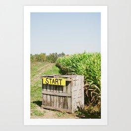 Start Box Art Print
