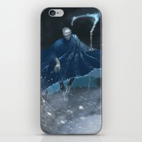 jack frost iPhone & iPod Skins featuring Jack Frost by vicious mongrel