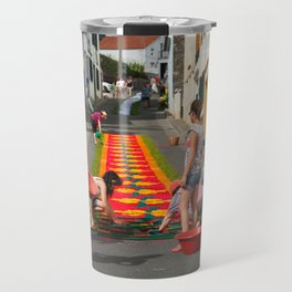 Flower carpets Travel Mug