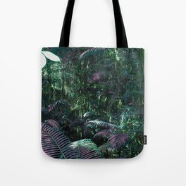 Frazer Island Rainforest in Green Tote Bag