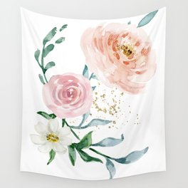 Rose Arrangement No. 1 Wall Tapestry