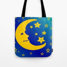 Mr. Moon Tote Bag