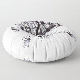 East Coast Beast Coast Floor Pillow