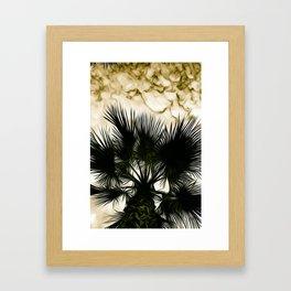 Intense Sky Framed Art Print