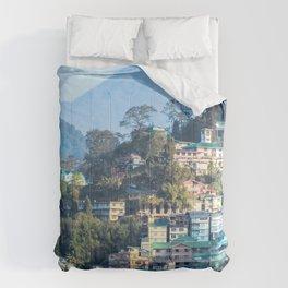 Pastel City : Gangtok Comforters