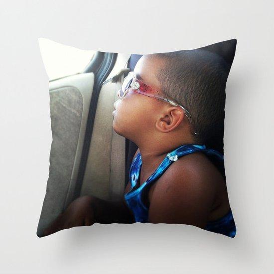 Peaceful Sleeper Throw Pillow