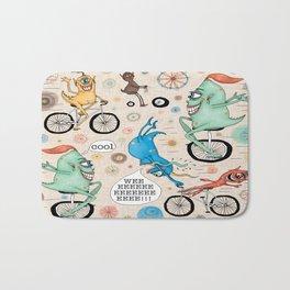 Cycling Cyclops or Cyclops Cycling Bath Mat