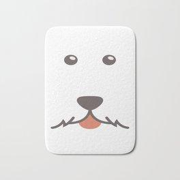 Dog Emoji Airedale Bath Mat