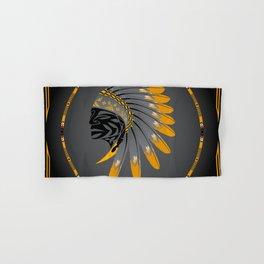 Honor and Strength Yellow Hand & Bath Towel