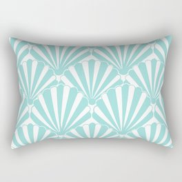 Sea shell Blue Rectangular Pillow