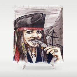 Hollywood Jack Shower Curtain
