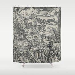 Woman of Babylon Shower Curtain