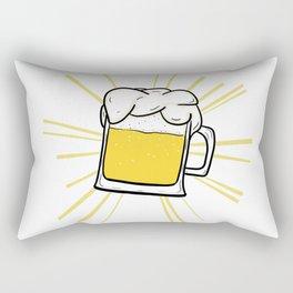 Holy Beer Tee Rectangular Pillow