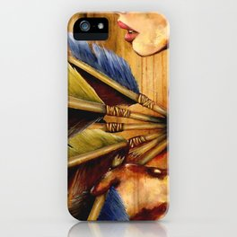 Struck iPhone Case