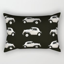 Fiat 500 Toppolino - italian vintage automobile - #society6 #buyart Rectangular Pillow