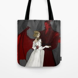 The Demon and the Countess Tote Bag