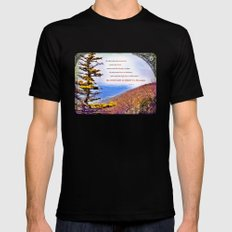 High Places Black Mens Fitted Tee MEDIUM