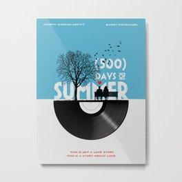 500 days of summer art Metal Print
