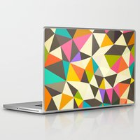 mod Laptop & iPad Skins featuring Mod Tris by Beth Thompson