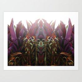 BEETROOT QUEEN Art Print