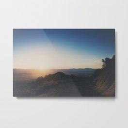 mountain road ... Metal Print