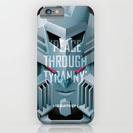 Megatron iPhone Case