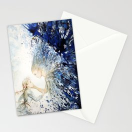 """""""The angel's kiss"""" Stationery Cards"""