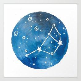 Pleiades Love Art Print