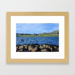 Iona Abbey Isle of Iona Framed Art Print