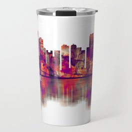 Anchorage Alaska skyline Travel Mug