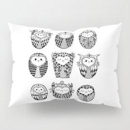 Nine Owls Pillow Sham
