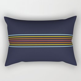 Classic Fine Retro Stripes Rectangular Pillow