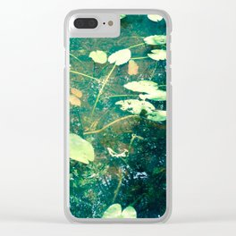 After noon Clear iPhone Case