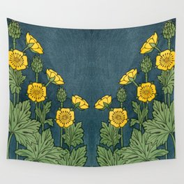 Butter Cup 1 Wall Tapestry