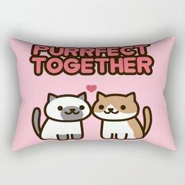 Marshmallow and Cocoa Rectangular Pillow