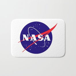 "The Official NASA ""Meatball"" Logo (and licensed!) Bath Mat"