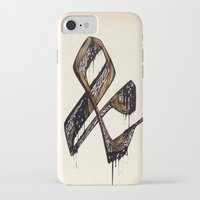 ampersand iPhone & iPod Cases featuring Ampersand by black out ronin
