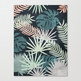 Tropicalia Night Canvas Print