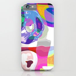 Cheerful Spring Patchwork Mosaic iPhone Case