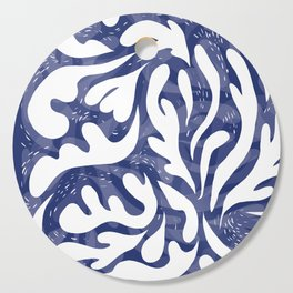echo of the waves Cutting Board