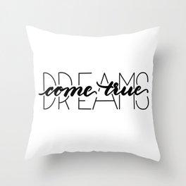 dreams come true Deko-Kissen