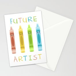 Future Artist Stationery Cards